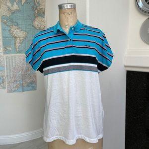 vintage 1980s Head sportswear polo tennis shirt